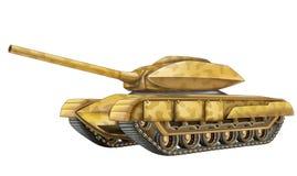 Cartoon tank Stock Image