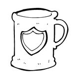 Cartoon tankard Stock Photo