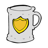 Cartoon tankard Royalty Free Stock Photos