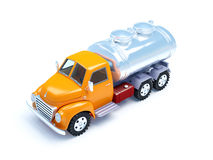 Cartoon tanker truck Royalty Free Stock Photos