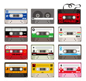 Cartoon tape icon. Drawing Stock Photography