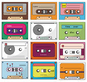 Cartoon tape icon Royalty Free Stock Photos