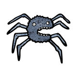 cartoon tarantula Royalty Free Stock Photo