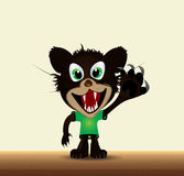 Cartoon tasmanian devil Royalty Free Stock Photography