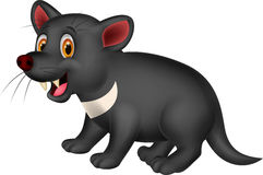 Cartoon Tasmanian devil Stock Photo