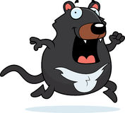 Cartoon Tasmanian Devil Running Royalty Free Stock Images