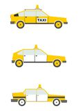 Cartoon taxi Royalty Free Stock Photos