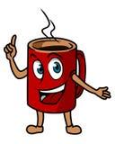 Cartoon tea cup Stock Photography