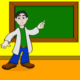 Cartoon teacher Stock Photos
