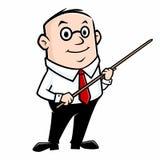 Cartoon Teacher Royalty Free Stock Image