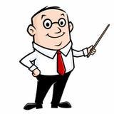 Cartoon Teacher Stock Photography