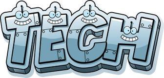 Cartoon Tech Text Stock Photography