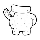Cartoon teddy bear body (mix and match or add own photos) Stock Photo
