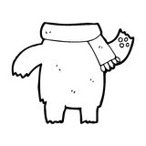 Cartoon teddy bear body (mix and match or add own photos) Stock Images