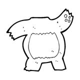 Cartoon teddy bear body (mix and match or add own photos) Royalty Free Stock Images