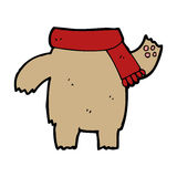 Cartoon teddy bear body (mix and match or add own photos) Royalty Free Stock Photography