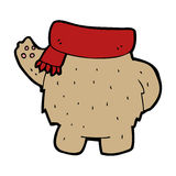 Cartoon teddy bear body (mix and match or add own photos) Royalty Free Stock Image