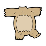 Cartoon teddy bear body (mix and match cartoons) Royalty Free Stock Photography
