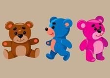 Cartoon Teddy Bears Royalty Free Stock Photo