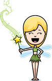 Cartoon Teen Fairy Magic Wand Royalty Free Stock Photo