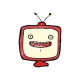 cartoon television set Royalty Free Stock Image