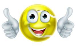 Cartoon Tennis Ball Man Character Royalty Free Stock Images