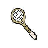 Cartoon tennis racket Royalty Free Stock Photography