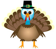 Cartoon Thanksgiving Turkey Royalty Free Stock Photos
