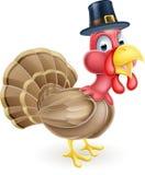 Cartoon Thanksgiving Turkey Stock Photography
