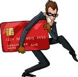 Cartoon Thief Royalty Free Stock Photo