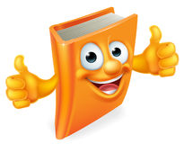 Cartoon Thumbs Up Book Royalty Free Stock Images