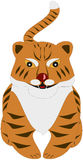 Cartoon tiger Royalty Free Stock Photos