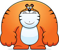 Cartoon Tiger Royalty Free Stock Photo