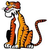 Cartoon tiger Royalty Free Stock Photos