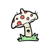 cartoon toad stools Royalty Free Stock Photo