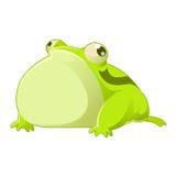 Cartoon toad Stock Photography