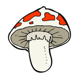Cartoon toadstool Royalty Free Stock Images