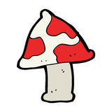 Cartoon toadstool Stock Photos
