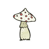 Cartoon toadstools Stock Image