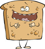 Cartoon toast Royalty Free Stock Photo