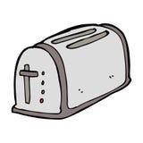 cartoon toaster Stock Image