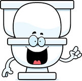 Cartoon Toilet Idea Royalty Free Stock Photos