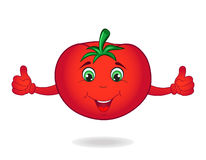 Cartoon tomato Stock Photos