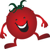 Cartoon Tomato Stock Image