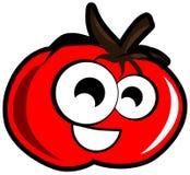 Cartoon tomato isolated illustration Stock Photos