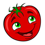Cartoon tomato Royalty Free Stock Photos