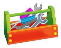 Cartoon tool box Royalty Free Stock Photo