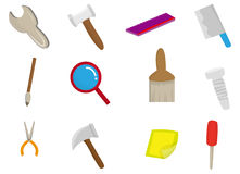 Cartoon tool icon Stock Photo