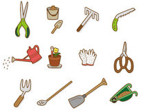 Cartoon tool icon Stock Image