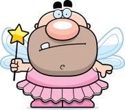 Cartoon Tooth Fairy. A cartoon Tooth Fairy man in a tutu vector illustration